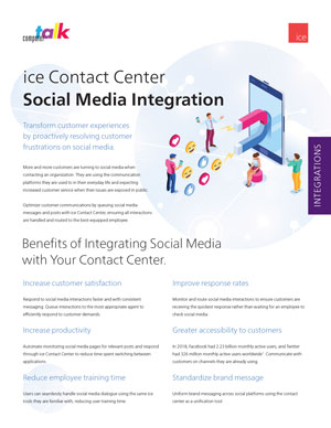 Contact-Center-Social-Media-Integration